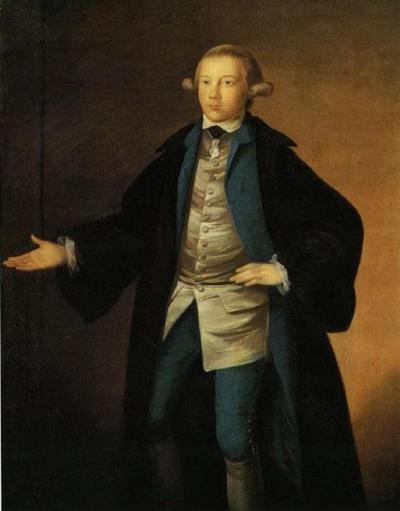 18th century portrait of man in graduate robes