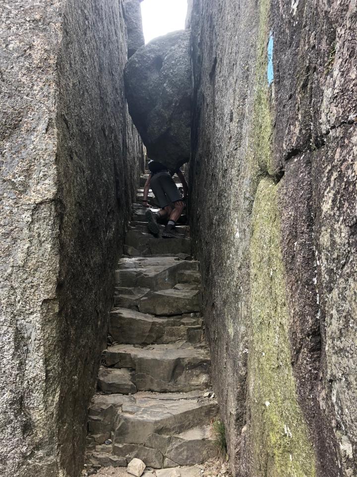 Going under a rock 3