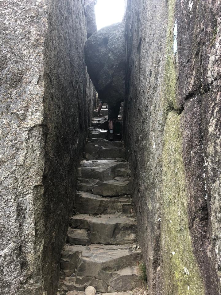 Going under a rock 4